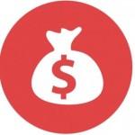 Ikonka pieniądze konto